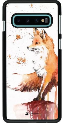 Coque Samsung Galaxy S10 - Autumn 21 Fox