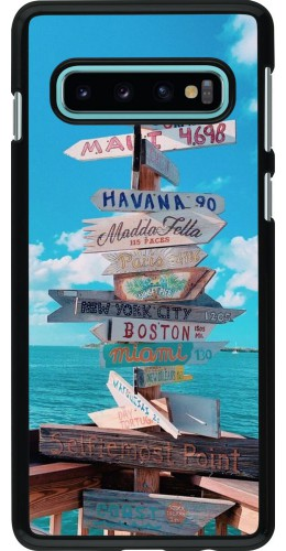 Coque Samsung Galaxy S10 - Cool Cities Directions