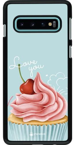Coque Samsung Galaxy S10 - Cupcake Love You