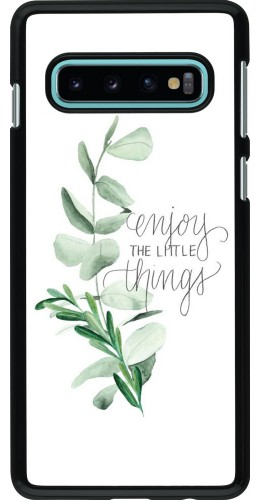 Coque Samsung Galaxy S10 - Enjoy the little things