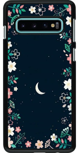 Coque Samsung Galaxy S10 - Flowers space