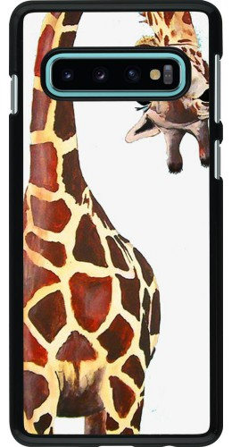 Coque Samsung Galaxy S10 - Giraffe Fit