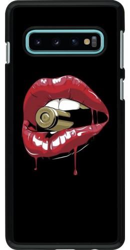 Coque Samsung Galaxy S10 - Lips bullet
