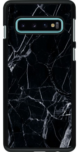 Coque Samsung Galaxy S10 - Marble Black 01