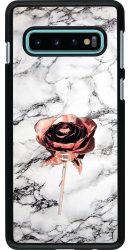 Coque Samsung Galaxy S10 - Marble Rose Gold