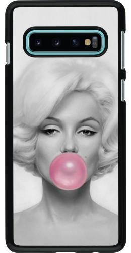 Coque Samsung Galaxy S10 - Marilyn Bubble