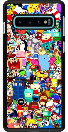 Coque Samsung Galaxy S10 - Mixed cartoons