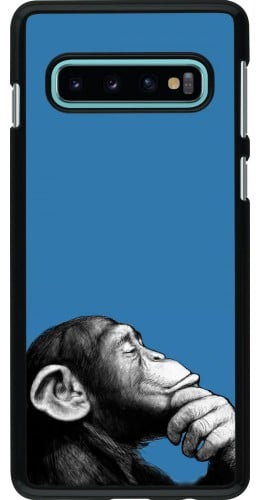Coque Samsung Galaxy S10 - Monkey Pop Art