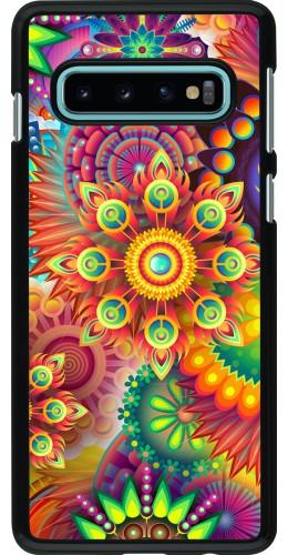 Coque Samsung Galaxy S10 - Multicolor aztec