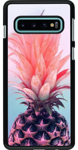 Coque Samsung Galaxy S10 - Purple Pink Pineapple