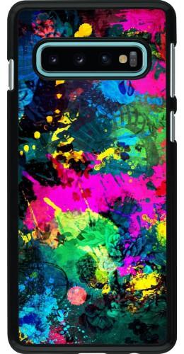 Coque Samsung Galaxy S10 - splash paint