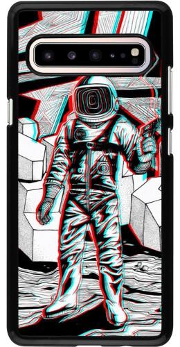 Coque Samsung Galaxy S10 5G - Anaglyph Astronaut