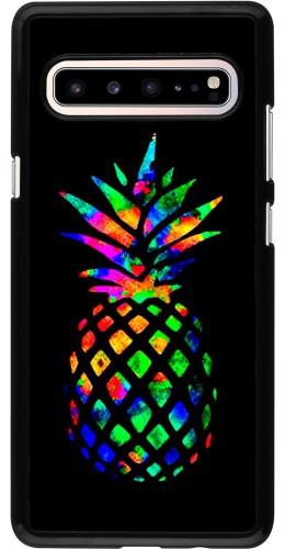 Coque Samsung Galaxy S10 5G - Ananas Multi-colors