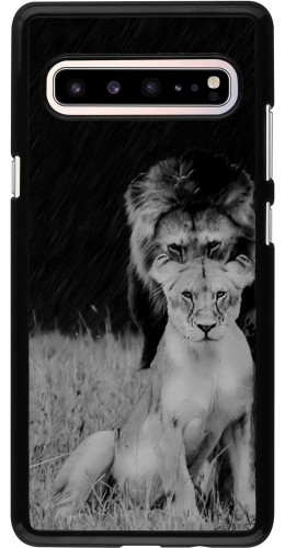 Coque Samsung Galaxy S10 5G - Angry lions