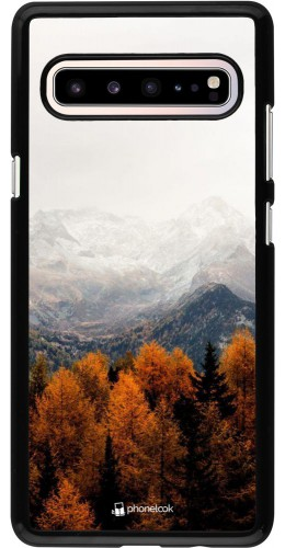 Coque Samsung Galaxy S10 5G - Autumn 21 Forest Mountain