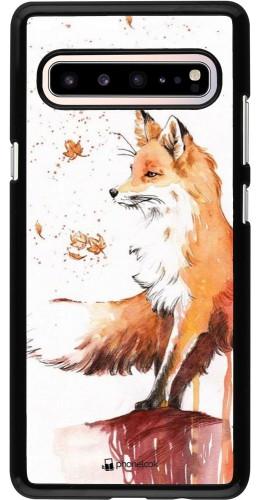 Coque Samsung Galaxy S10 5G - Autumn 21 Fox