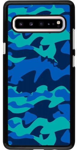 Coque Samsung Galaxy S10 5G - Camo Blue