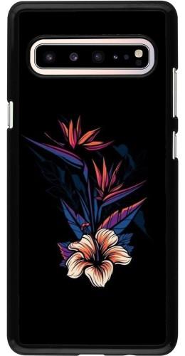 Coque Samsung Galaxy S10 5G - Dark Flowers