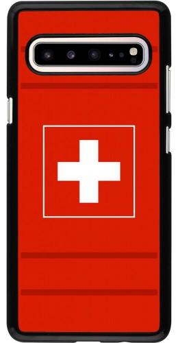 Coque Samsung Galaxy S10 5G - Euro 2020 Switzerland