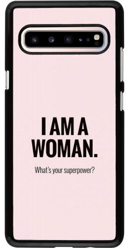 Coque Samsung Galaxy S10 5G - I am a woman