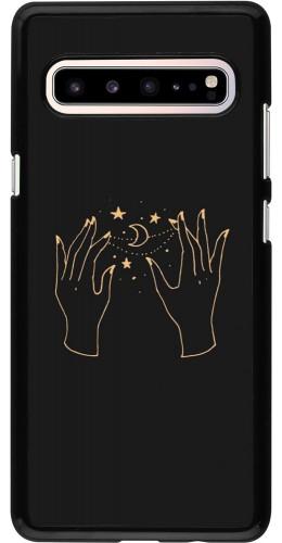Coque Samsung Galaxy S10 5G - Grey magic hands
