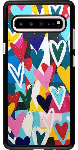 Coque Samsung Galaxy S10 5G - Joyful Hearts