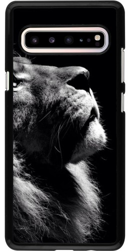 Coque Samsung Galaxy S10 5G - Lion looking up