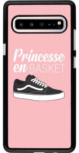 Coque Samsung Galaxy S10 5G - princesse en basket