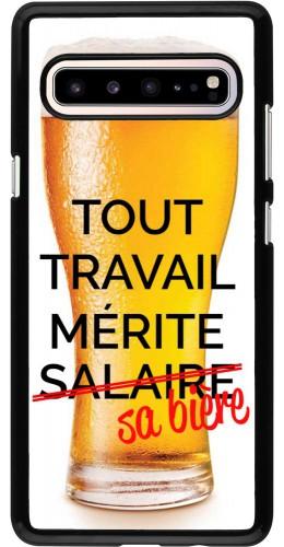Coque Samsung Galaxy S10 5G - Tout travail mérite sa bière