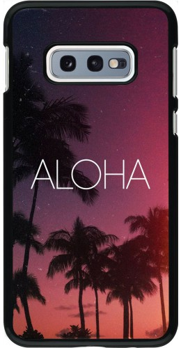 Coque Samsung Galaxy S10e - Aloha Sunset Palms