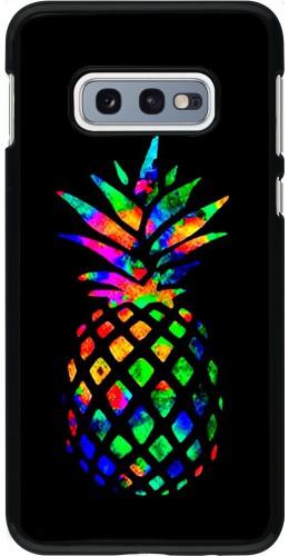 Coque Samsung Galaxy S10e - Ananas Multi-colors