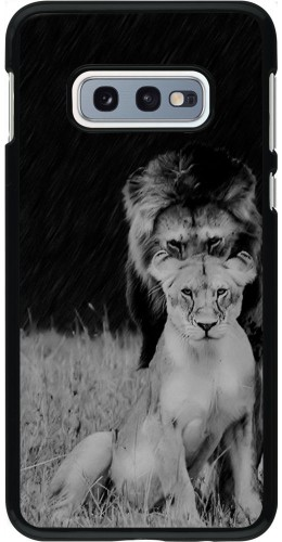 Coque Samsung Galaxy S10e - Angry lions