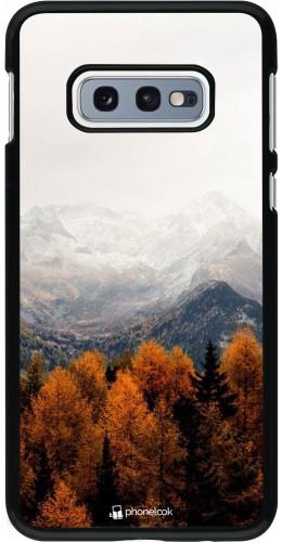 Coque Samsung Galaxy S10e - Autumn 21 Forest Mountain