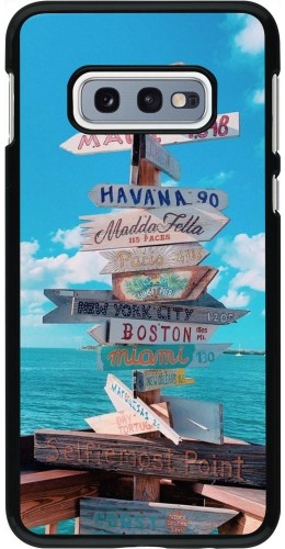 Coque Samsung Galaxy S10e - Cool Cities Directions