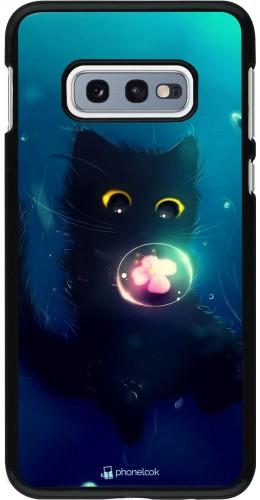 Coque Samsung Galaxy S10e - Cute Cat Bubble