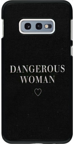 Coque Samsung Galaxy S10e - Dangerous woman