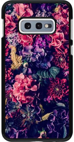 Coque Samsung Galaxy S10e - Flowers Dark