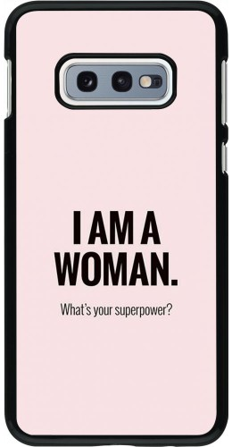 Coque Samsung Galaxy S10e - I am a woman