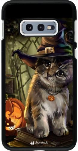Coque Samsung Galaxy S10e - Halloween 21 Witch cat