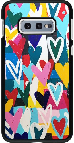 Coque Samsung Galaxy S10e - Joyful Hearts