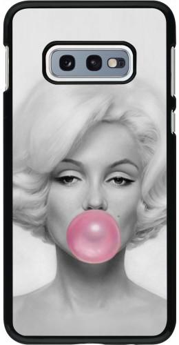Coque Samsung Galaxy S10e - Marilyn Bubble