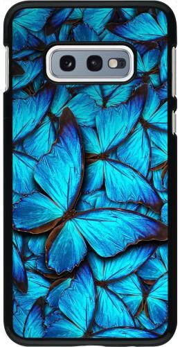 Coque Samsung Galaxy S10e - Papillon bleu