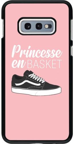 Coque Samsung Galaxy S10e - princesse en basket