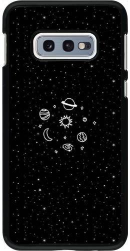 Coque Samsung Galaxy S10e - Space Doodle