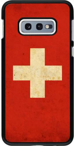 Coque Samsung Galaxy S10e - Vintage Flag SWISS