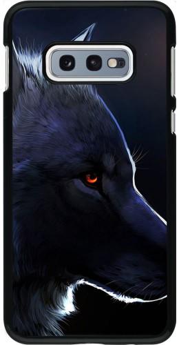 Coque Samsung Galaxy S10e - Wolf Shape