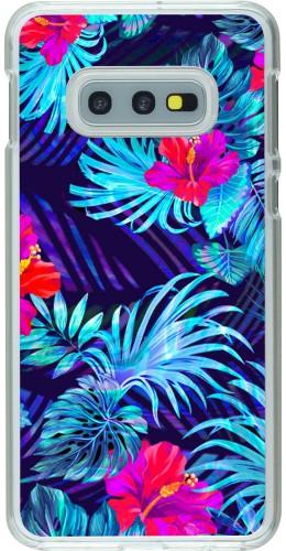 Coque Samsung Galaxy S10e - Plastique transparent Blue Forest