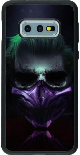 Coque Samsung Galaxy S10e - Silicone rigide noir Halloween 20 21