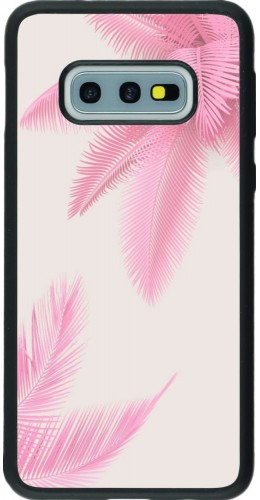 Coque Samsung Galaxy S10e - Silicone rigide noir Summer 20 15