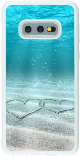 Coque Samsung Galaxy S10e - Silicone rigide blanc Summer 18 19